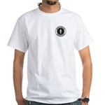 Support Probation Officer White T-Shirt