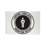 Support Probation Officer Rectangle Magnet (10 pac