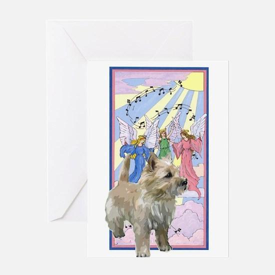 Cairn rainbow bridge poem Greeting Card