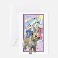 Cairn rainbow bridge poem Greeting Cards (Pk of 10