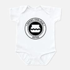 Support Potter Infant Bodysuit
