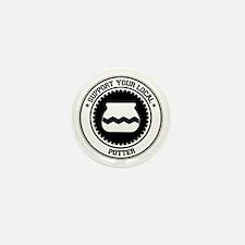 Support Potter Mini Button