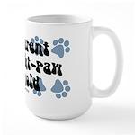 Eight-paw household Large Mug