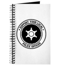 Support Police Officer Journal
