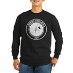 Support Poet Long Sleeve Dark T-Shirt