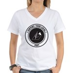 Support Poet Women's V-Neck T-Shirt