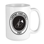 Support Poet Large Mug