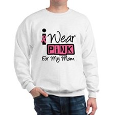 I Wear Pink Ribbon Mom Jumper