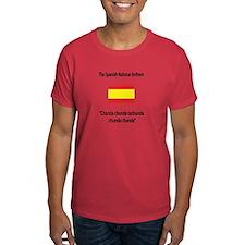 "Whooligan Spain ""No Words Anthem"" T-Shirt"