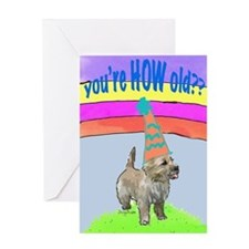 cairn birthday card Greeting Card