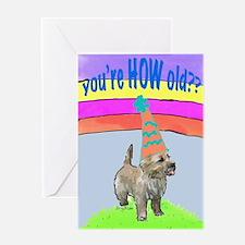 cairn birthday card Greeting Card