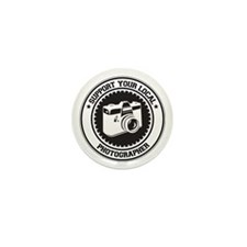 Support Photographer Mini Button (100 pack)