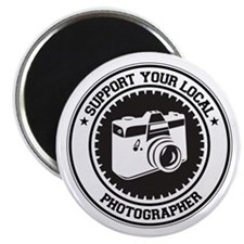 "Support Photographer 2.25"" Magnet (10 pack)"