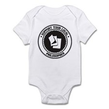 Support Philosopher Infant Bodysuit