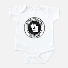 Support Philosopher Infant Bodysuit