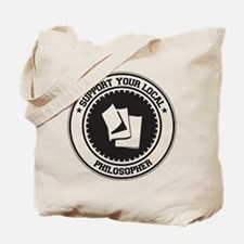 Support Philosopher Tote Bag
