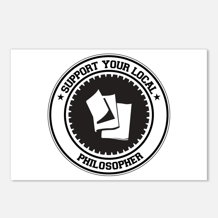 Support Philosopher Postcards (Package of 8)