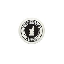 Support Pharmacist Mini Button