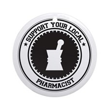 Support Pharmacist Ornament (Round)