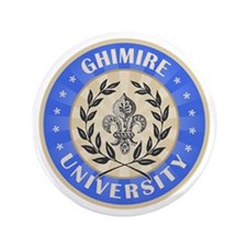 "Ghimire Last Name University 3.5"" Button"