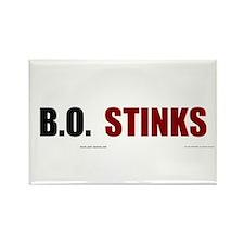 BO Stinks Rectangle Magnet (100 pack)