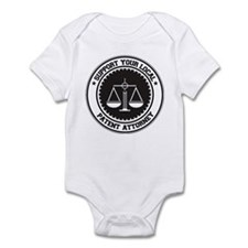 Support Patent Attorney Infant Bodysuit