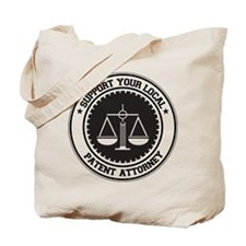 Support Patent Attorney Tote Bag