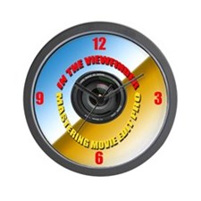 In The Viewfinder Wall Clock