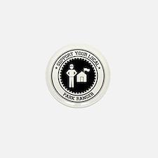 Support Park Ranger Mini Button