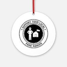 Support Park Ranger Ornament (Round)