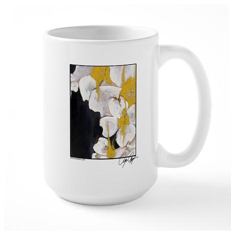"""""""Evening Dogwood"""" Large Mug"""