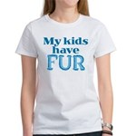 Kids Have Fur Women's T-Shirt