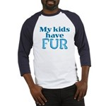 Kids Have Fur Baseball Jersey