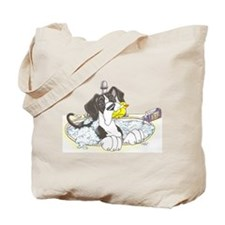 NMtl Sink Puppy Tote Bag