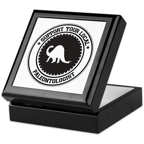 Support Paleontologist Keepsake Box