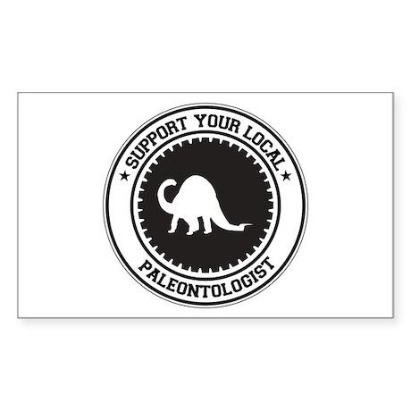 Support Paleontologist Rectangle Sticker
