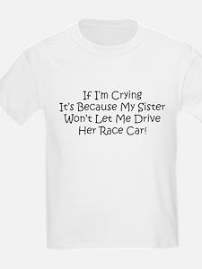 My Sisters Race Car T-Shirt