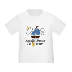 6th Birthday Sailboat Party T