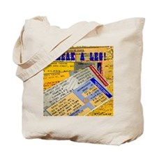 Break A Leg (tickets) totebag