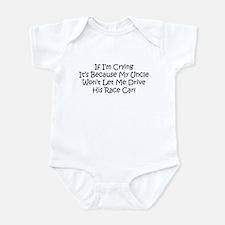 My Uncles Race Car Infant Bodysuit