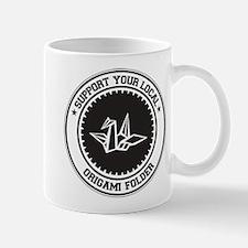 Support Origami Folder Mug