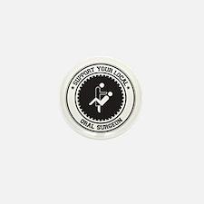 Support Oral Surgeon Mini Button