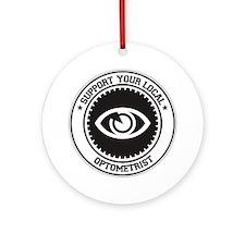 Support Optometrist Ornament (Round)