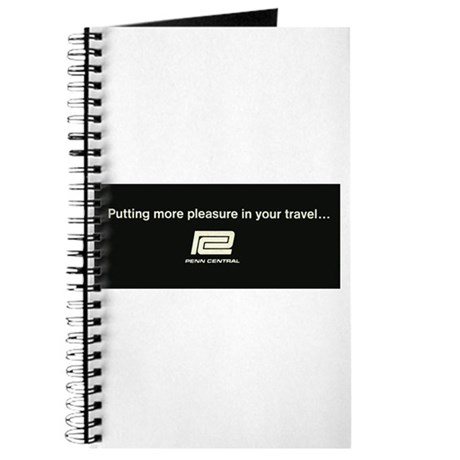PennCentral Railroad Travel Logo Journal