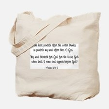 """As the Hart"" Tote Bag"