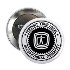 "Support Occupational Therapist 2.25"" Button"