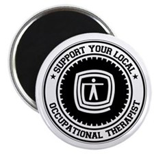 "Support Occupational Therapist 2.25"" Magnet (10 pa"