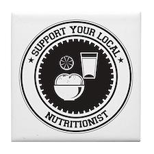 Support Nutritionist Tile Coaster