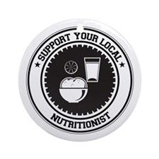 Support Nutritionist Ornament (Round)