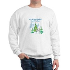 Christmas Time Weimaraner Sweatshirt